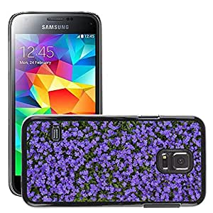 Etui Housse Coque de Protection Cover Rigide pour // M00151303 Azul Almohada Tema Bloom Primavera // Samsung Galaxy S5 MINI SM-G800