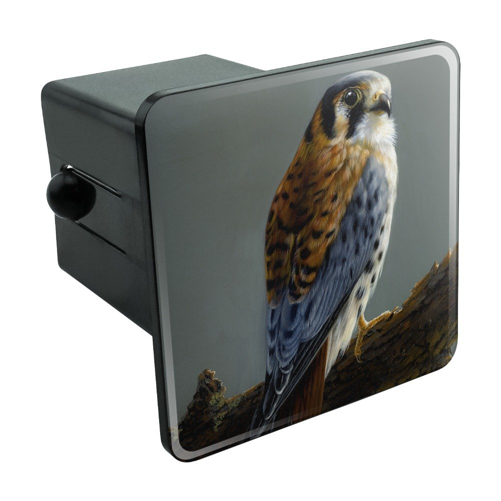 Graphics and More American Kestrel on Branch Painting Tow Trailer Hitch Cover Plug Insert 1 1//4 inch 1.25
