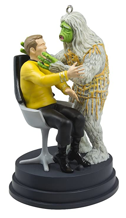 "Hallmark 2016 Christmas Ornament STAR TREK ""The Man Trap"" Kirk  and Salt Monster - Amazon.com: Hallmark 2016 Christmas Ornament STAR TREK"