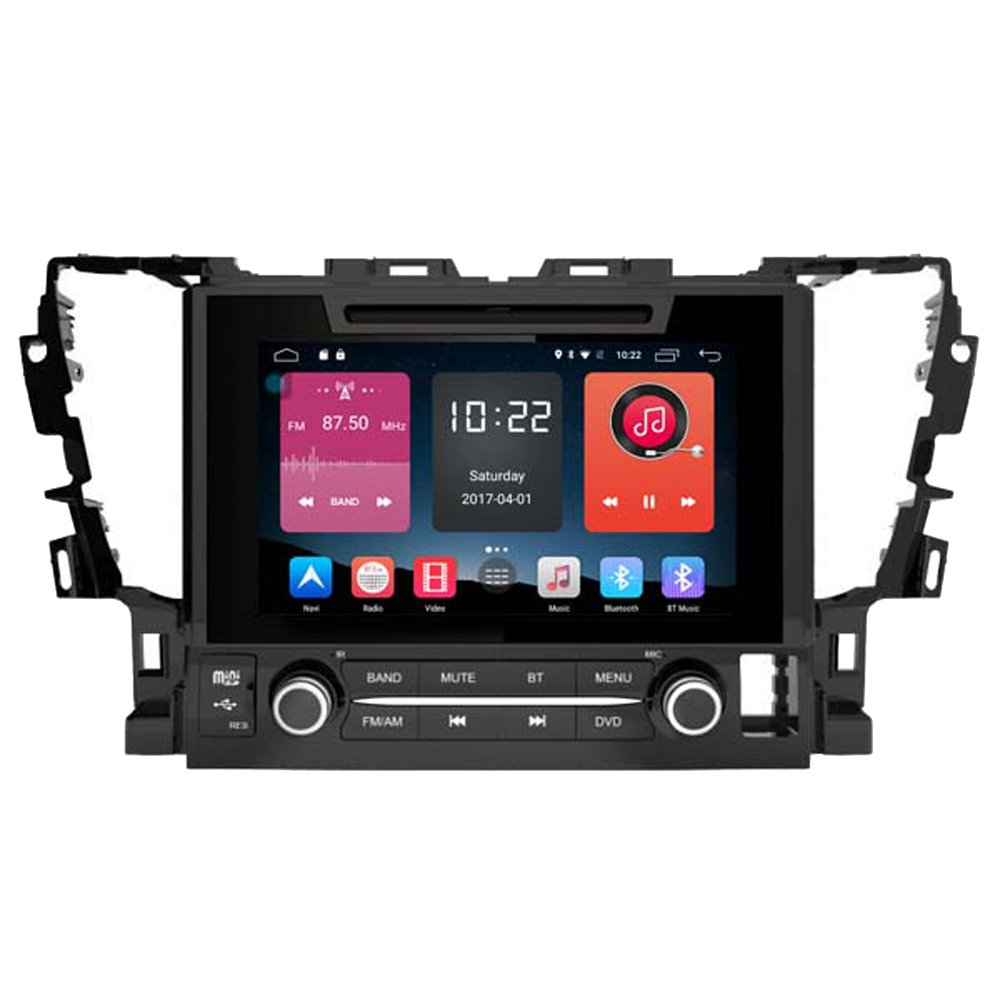 Autosion In Dash Android 6.0 Car DVD Player Sat Nav Radio Head Unit GPS Navigation Stereo for Toyota Alphard 2015 2016 2017 4G LTE TPMS Support Bluetooth SD USB Radio WIFI DVR 1080P