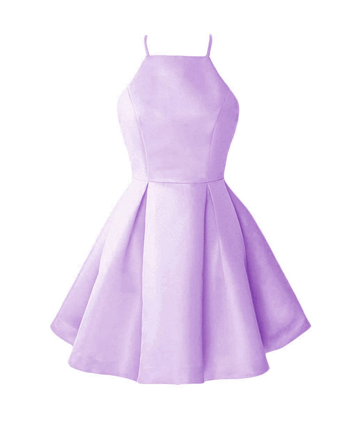 Bpurplec WHZZ Womens ALine Homecoming Dresses Mini Short Cocktail Party Dresses