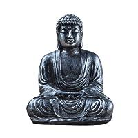 EMVANV meditativa Buddha di il grande tempio statua da giardino, resina sintetica, Harmony innovative exquisite statua di Buddha