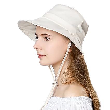 48327699b Siggi Crushable UPF50 Summer Sun Hat Women Safari Beach Bucket Hats 55-59CM