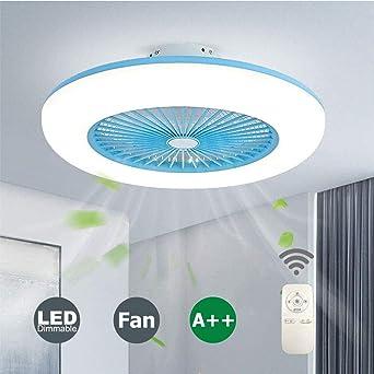 Ventilador de Techo con Luz y Control Remoto, Ventilador ...