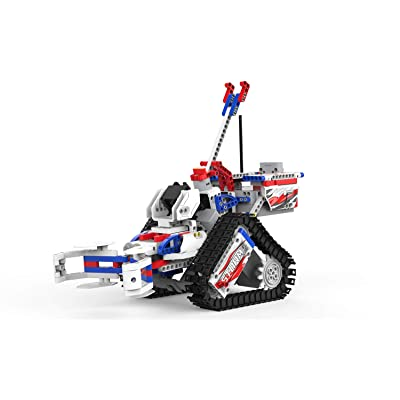 UBTECH JIMU Robot Competitive Series: Champbot Kit/ App-Enabled Building & Coding STEM Robot Kit (522 Pcs) from Robotics: Toys & Games