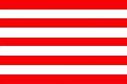 Gran Bandera de Atletico Madrid sin Escudo 150 x 90 cm Durobol Flag Satén: Amazon.es: Deportes y aire libre