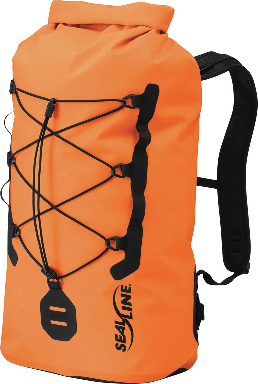 SealLine BigFork 30-Liter Waterproof Roll Top Dry Daypack, Orange by SealLine