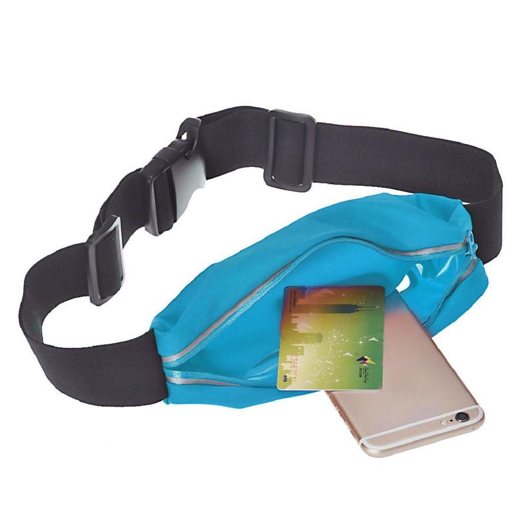 Samsung Galaxy S7 S5 S6 Bord plus r/éfl/échissant /écran tactile transparent5.5 Fami Sport Courir Gym Ceinture Sac Pour iPhone 7 6S 6 Plus rouge