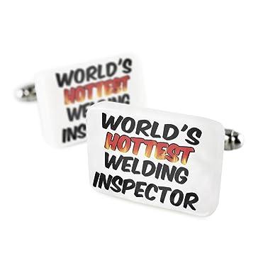 Gemelos mundos más caliente soldadura Inspector porcelana cerámica Neonblond: Amazon.es: Joyería