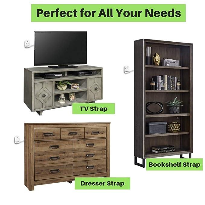 Amazon.com: Carefree - Juego de 8 anclajes para muebles de ...