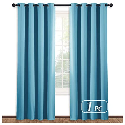 996966d68d54 NICETOWN Thermal Curtain 84 Inch Long - (Teal Blue Color) Thermal  Insulataed Window Treatment