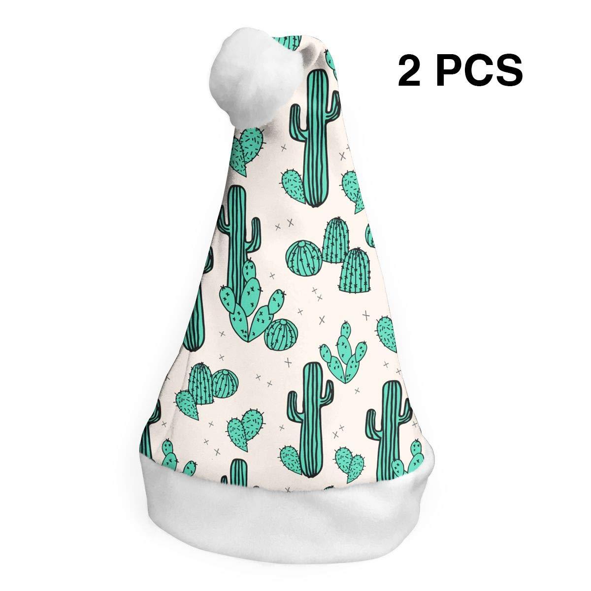 YISHOW - Gorro de Navidad y Gorro de Papá Noel, diseño de Plantas ...
