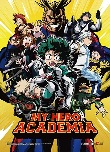 Great Eastern Entertainment My Hero Academia Wall-Decor-Stic