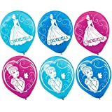 Printed Latex Balloons | Disney Cinderella Collection | Party Accessory