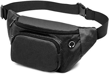 Water Polo Player Sport Waist Packs Fanny Pack Adjustable For Run