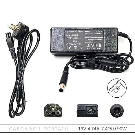 FOXLIVE Cargador para HP portatil Pavilion dv6-1170ep/1247eo ...