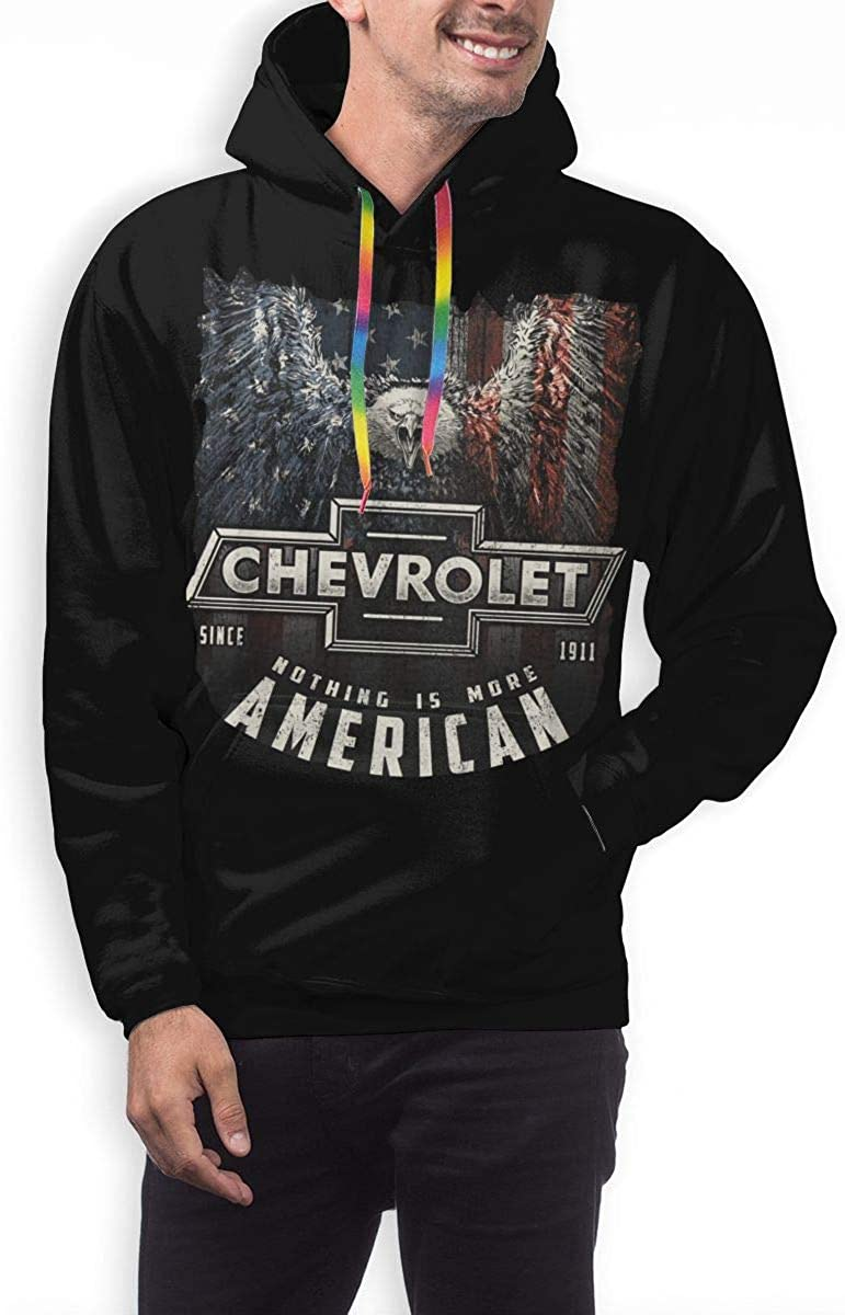 NOT Mens Chevy Trend Hooded Sweater Sweatshirt