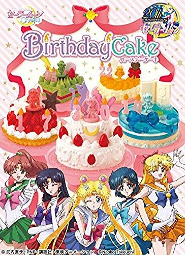 Sailor Moon Birthday Cake dessert Candy Re-Ment miniature blind (Re Ment Miniature)