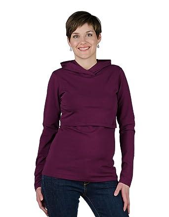 192a8156f8c Momzelle Women's Breastfeeding Nursing Hoodie (XtraSmall, Dalhia) at Amazon  Women's Clothing store: