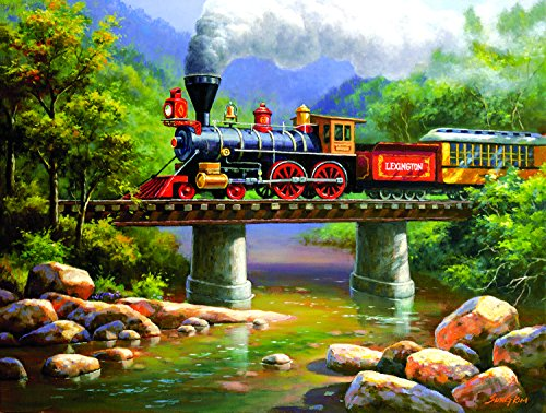 - The Lexington Express 500 Pc Jigsaw Puzzle by SunsOut