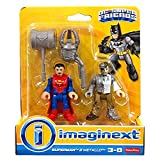Fisher-Price Imaginext DC Super Friends Superman and Metallo Figure Pack