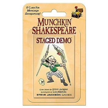 Steve Jackson Games SJG04259 Munchkin Shakespeare Staged ...
