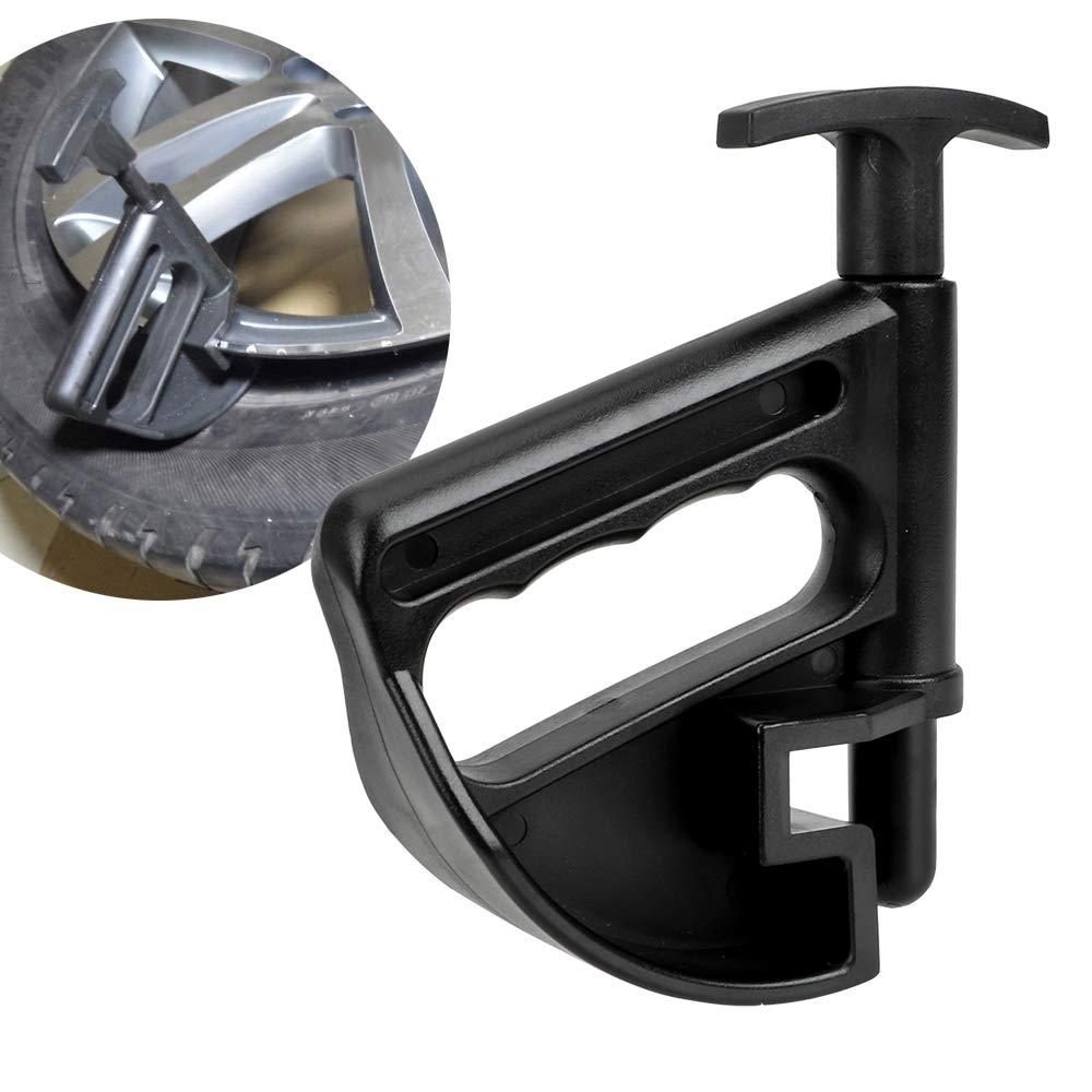Felgenklemme Adapter Schwarz Auto Reifenmontiermaschine Wulstklemme Reifen Maschine Wulstdr/ücken Auto Repair Tool Stemmrad /Ändern Helfer