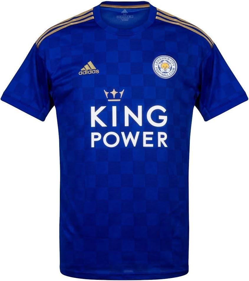 medio Precaución Cariñoso  adidas 2019-2020 Leicester City Home Football Shirt: Amazon.co.uk: Sports &  Outdoors