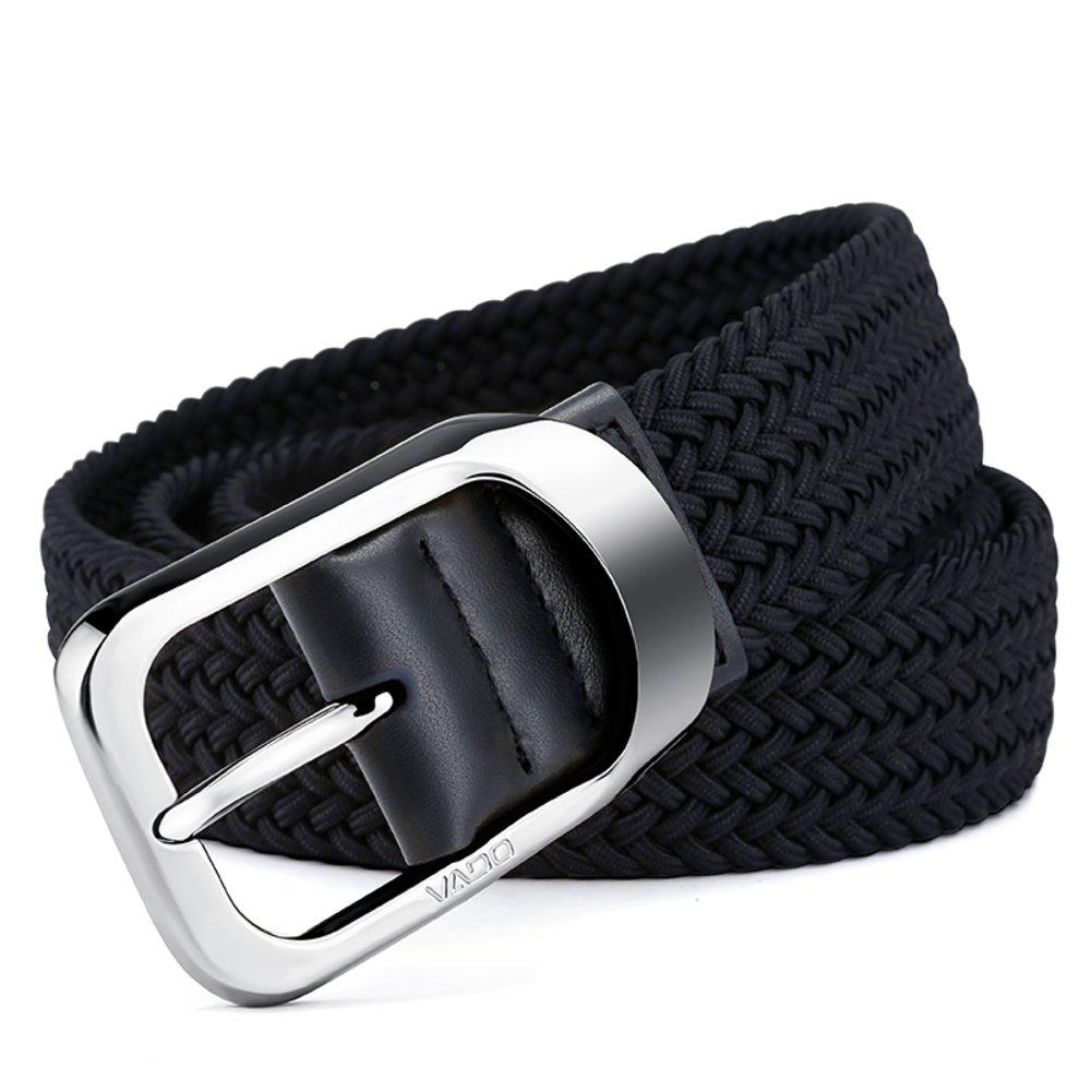 M?nnlich Leder Strick Nadel Schnalle Gürtel M?nnlich Canvas Elastic Belt M?nnlich Youth Fashion Belt
