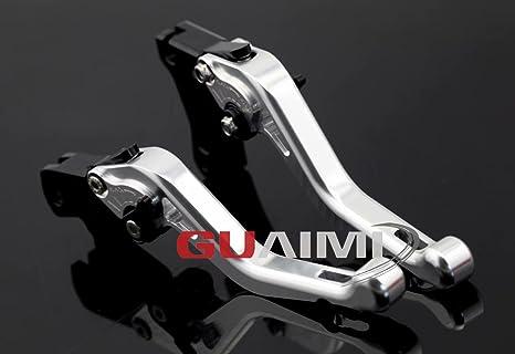 CNC Aluminum corta palanca de freno y palanca de embrague para BMW F650GS F700GS F800GS/