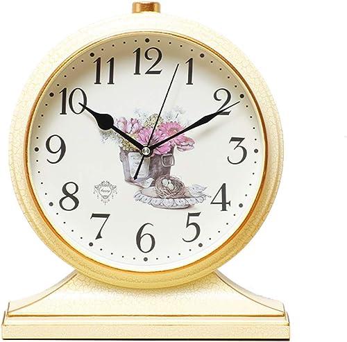 Mantle Desk Clock Living Room Creative Desk Decoration Mute Clock Digital Clock