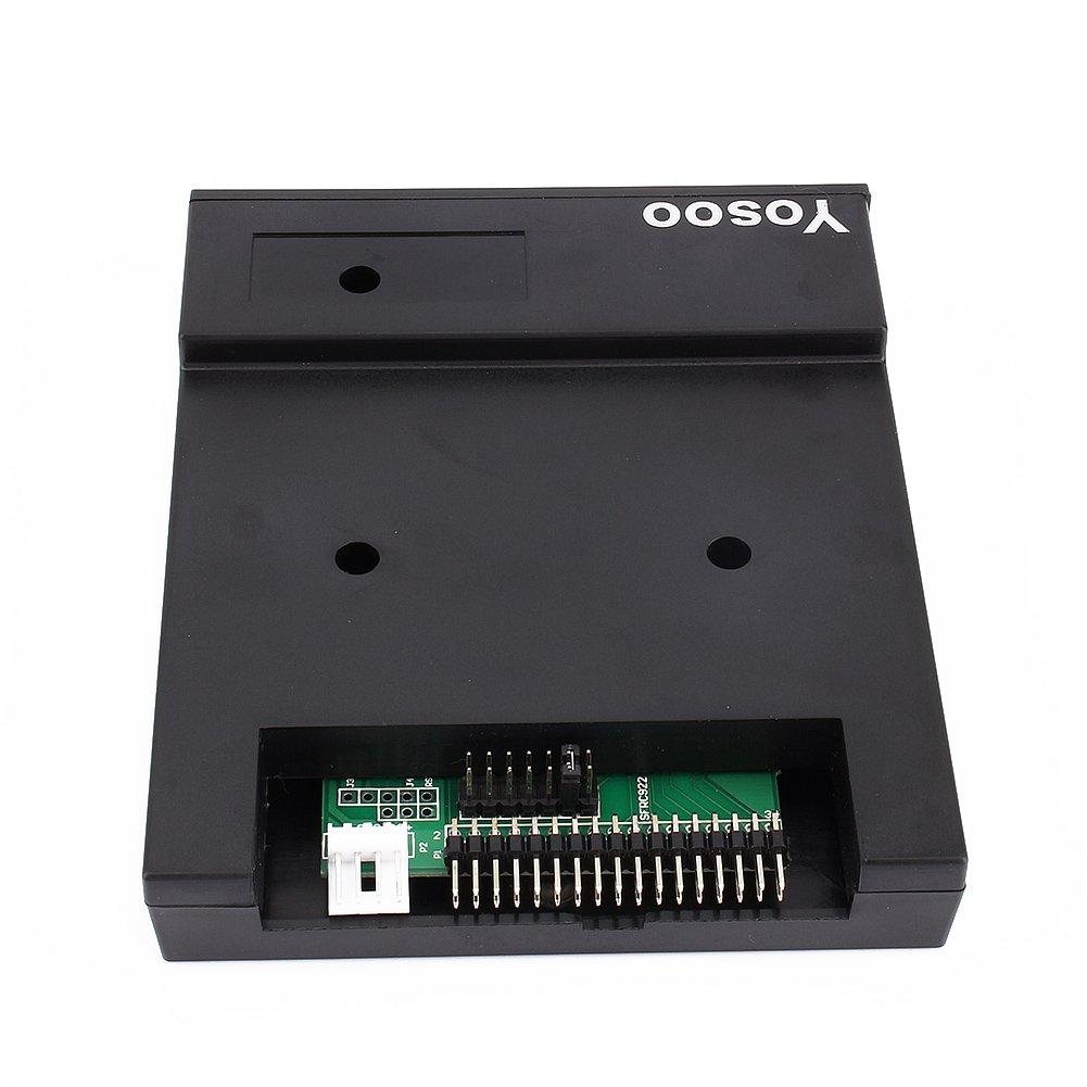 Generic SFR1M44-U100K - Emulador de disquetera USB, color negro: Amazon.es: Electrónica