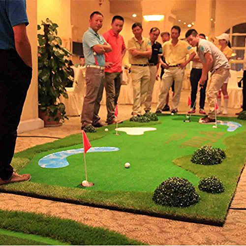 All-In-One Mutil Function Golf Practice Mat----Chipper/Irons/Driver/Putter Practice Mat,4.92FT X 11.48FT by PGM (Image #8)