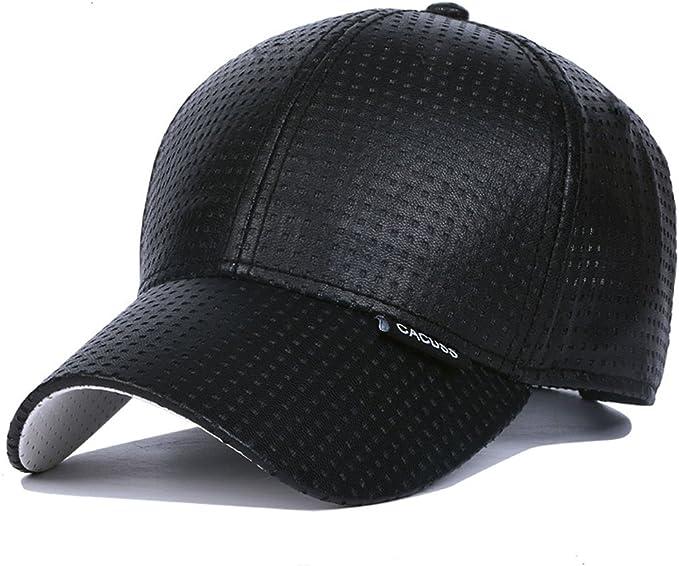 Sport CACUSS Uomini Cotone Cappello da Baseball Regolabile Cappellini da Baseball per Ambientazione Esterna Viaggi