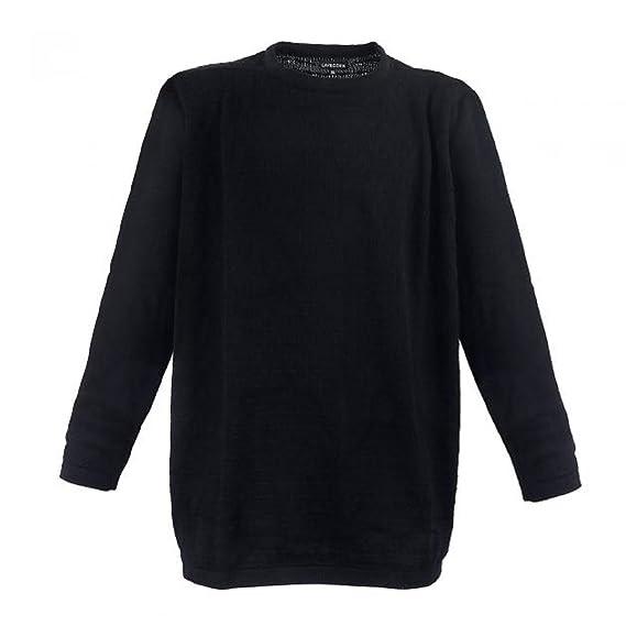 Lavecchia Men s Jumper Black Black  Amazon.co.uk  Clothing 922316fe02