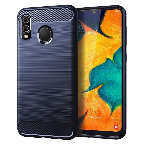 ae7cb5ec58 Samsung Galaxy A30 Case,Galaxy A20 Case,MAIKEZI Soft TPU Brushed  Anti-Fingerprint