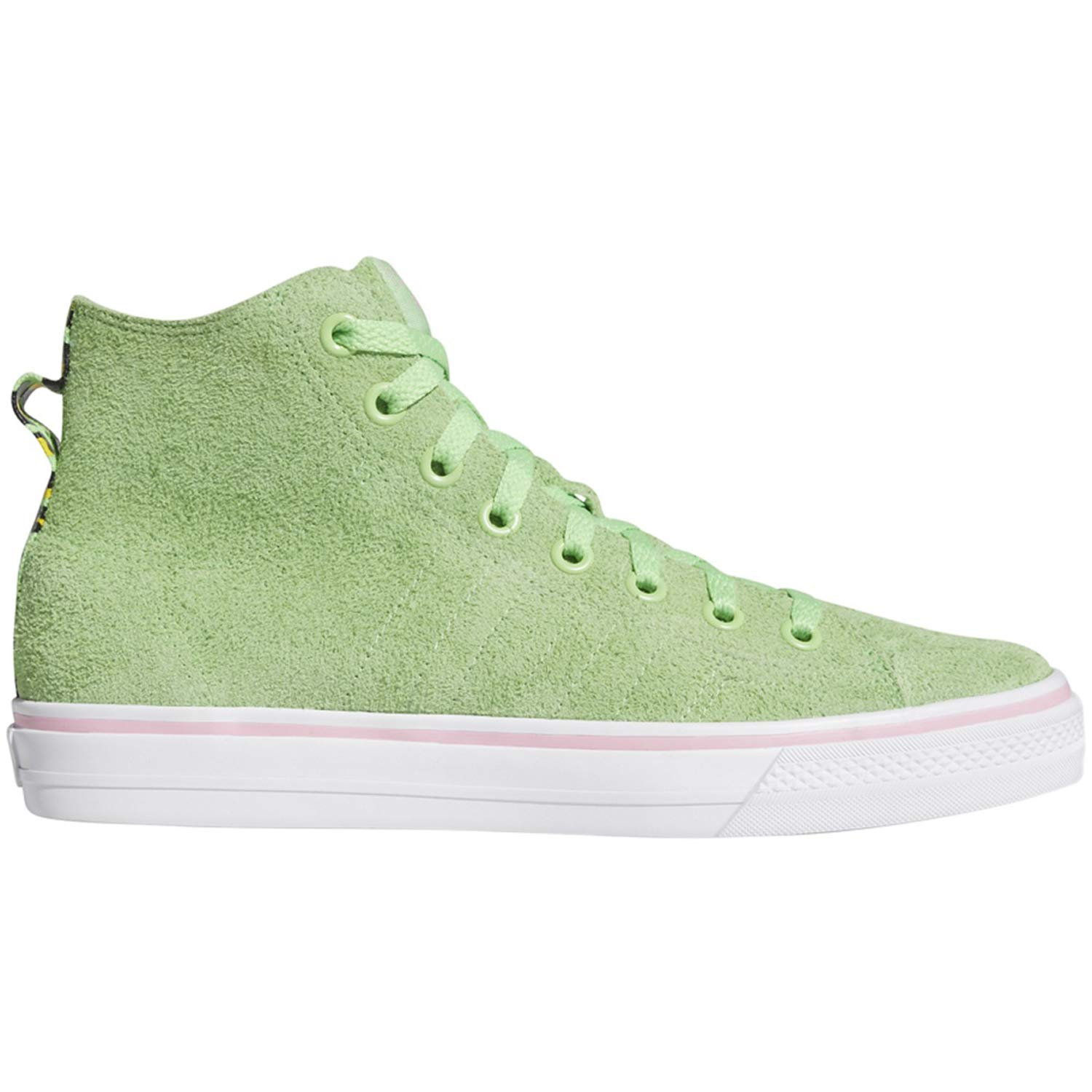 obtenir pas cher 8dfa8 32707 Amazon.com | adidas Nizza Hi RFS (Spring Green/White/Light ...