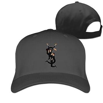 Hittings Unisex YSL Yves Saint Laurent Saint Cotton Snapback Baseball Cap  Hip Hop Hats Black  Amazon.co.uk  Sports   Outdoors 5edefc4290a
