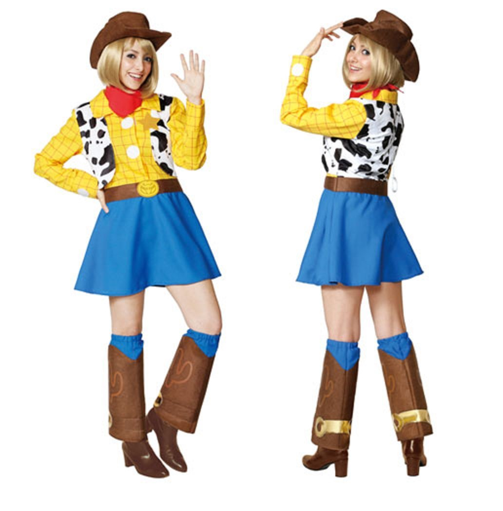 Disney Toy Story - Woody - Women's Costume by Rubies Japan