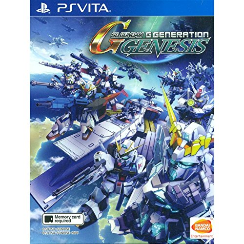 PS VITA SD Gundam G Generation Genesis (English Subs) for PlayStation VITA