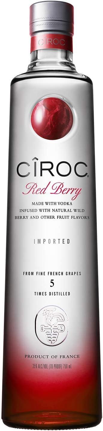 Ciroc Red Berry Vodka - 700 ml