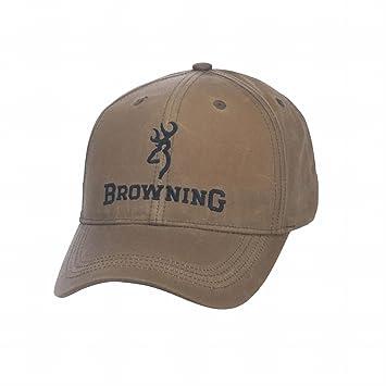 Browning Lite Wax Gorra, Unisex Adulto, Beige, Talla Única: Amazon.es: Deportes y aire libre