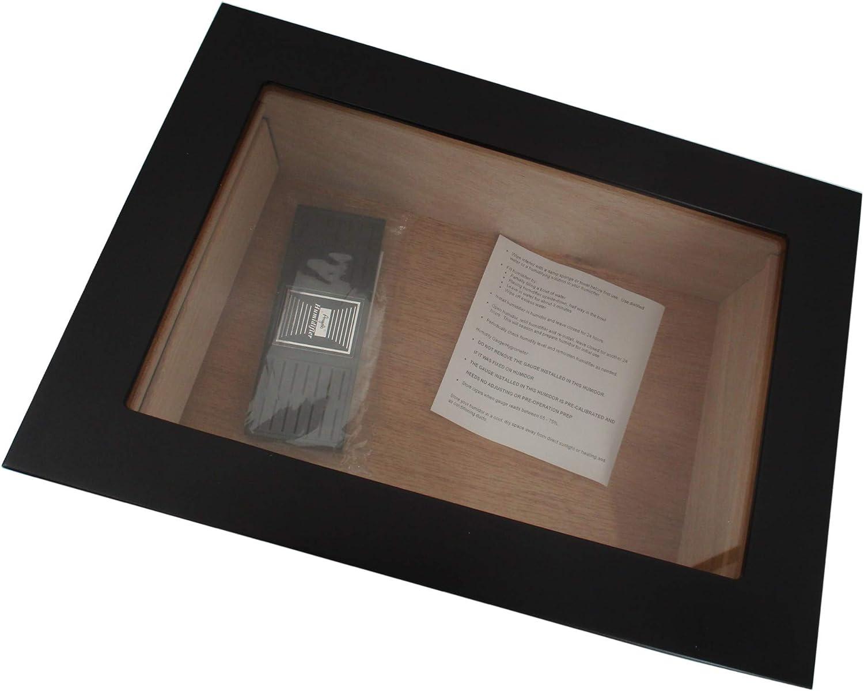 Angelo Humidore und Holz-Kisten: Humidor-Befeuchter f/ür Zigarren von bong-discount Acryl-Kristalle 22 x 78 x 53 mm Kunststoff Tabak und Kr/äuter schwarz