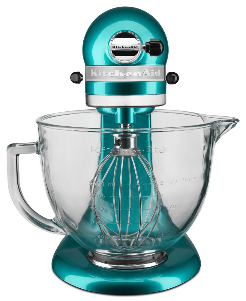 KitchenAid KSM155GBSA 5-Quart Artisan Design Series Mixer with ...