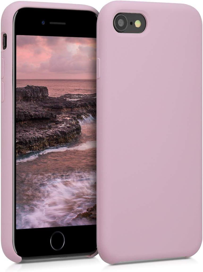 Handy Case in Wei/ß kwmobile H/ülle kompatibel mit Apple iPhone 7//8 // SE 2020 - Handyh/ülle gummiert