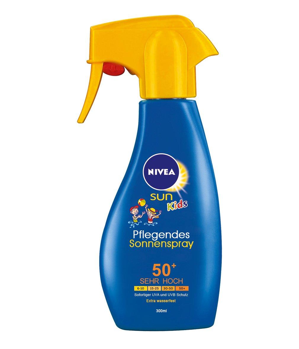 Nivea Sun Kids Pflegendes Sonnenspray LSF 50+, 1er Pack (1 x 300 ml) 85626_1