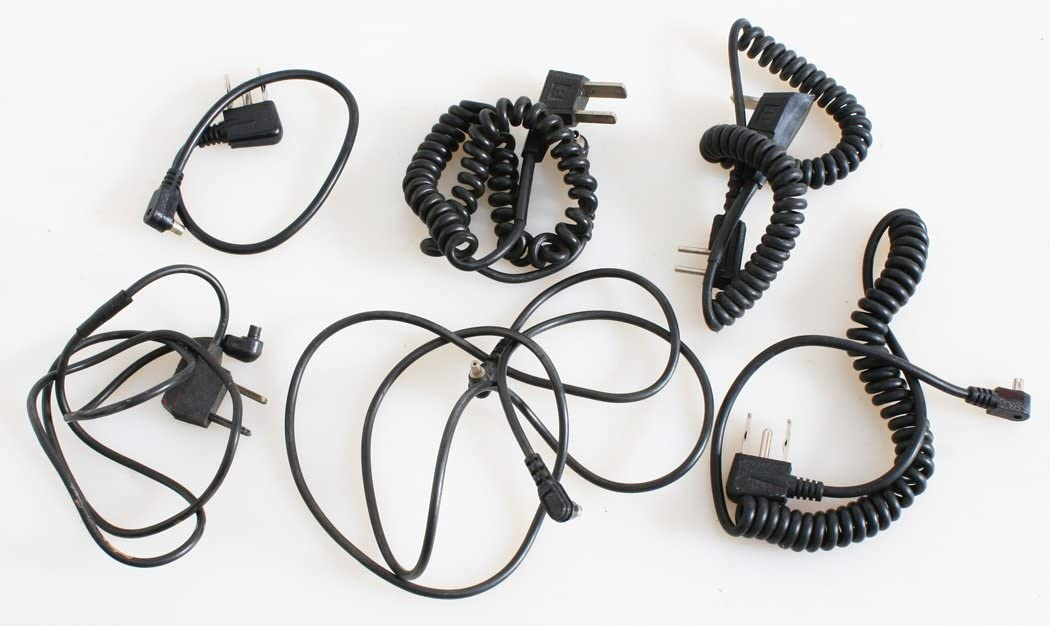 FLASH CORDS ASSORTED LOT OF 6