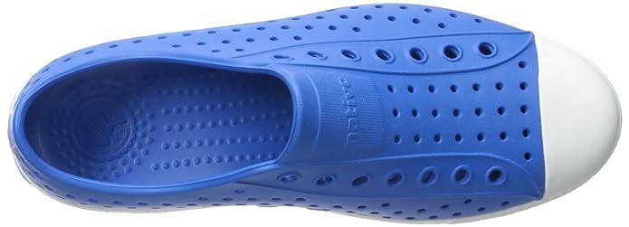 Native Eyewear Jefferson Zapatillas de Moda Unisex nativas, Azul (Barracuda Azul/Shell Blanco), 8 Mens/10 Womens US
