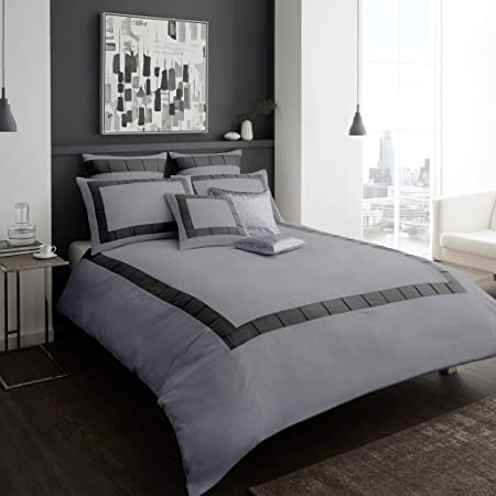 Duvet Quilt Cover with Pillow Case Bedding Set Single Double King All Size