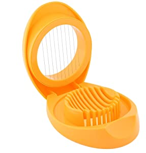 Mainstay 33112 Egg Slicer with Stainless Steel Wires